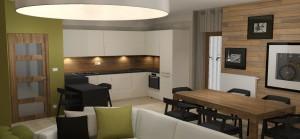 BYT 4kk - APARTMÁNY MEDVĚDÍN - Obývací pokoj (2)