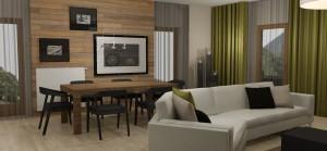 BYT 4kk - APARTMÁNY MEDVĚDÍN - Obývací pokoj (4)
