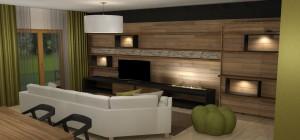 BYT 4kk - APARTMÁNY MEDVĚDÍN - Obývací pokoj (5)