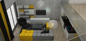 Podkrovní byt s galerií - Praha 10 (2)