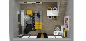 Podkrovní byt s galerií - Praha 10 (4)